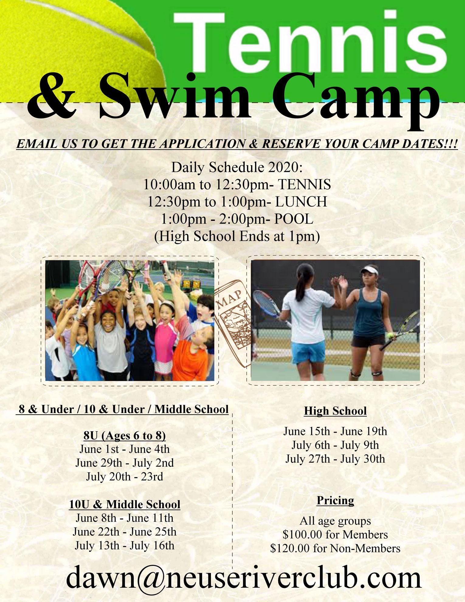 2020 Summer Camp Flyer