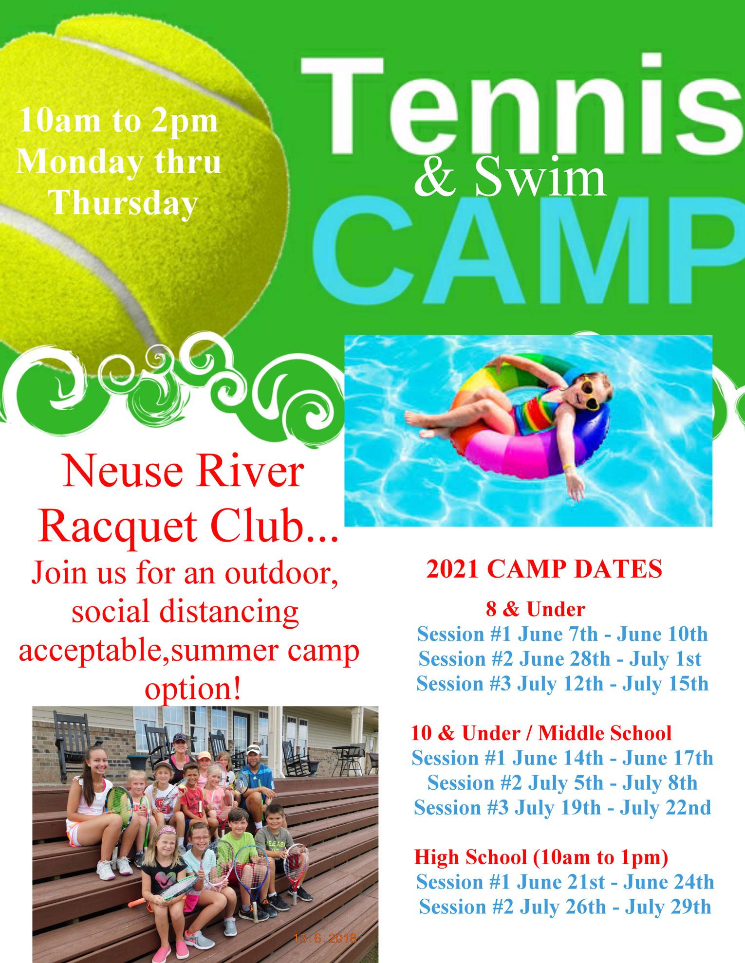 2021 Summer Camp Flyer