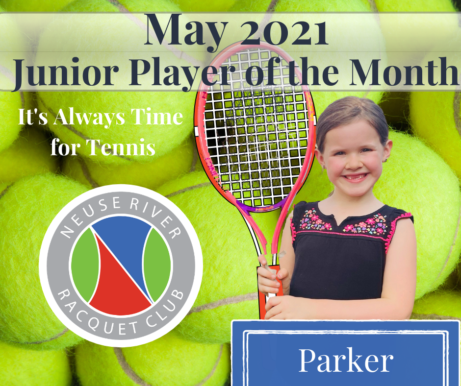 Junior Player of the Month- May 2021
