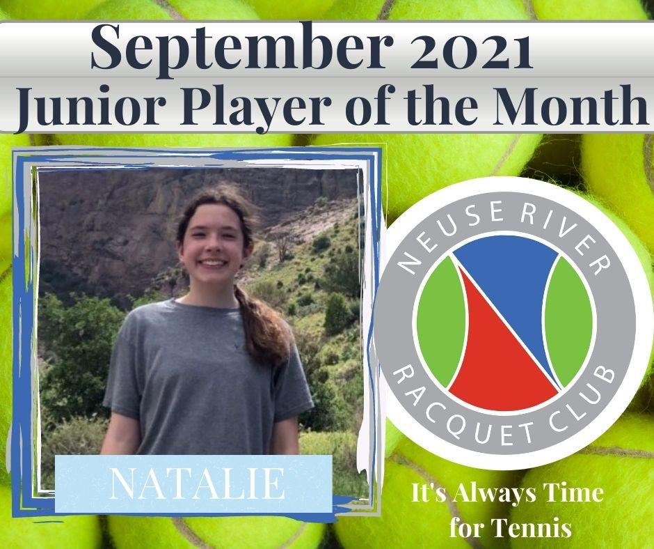 September Jr Player 2021 Natalie