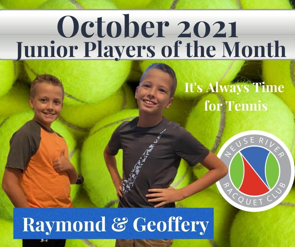 Jr Player of the Month